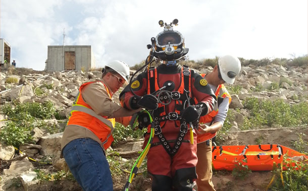 Commercial Diving Dam Inspection Repair, Wyoming