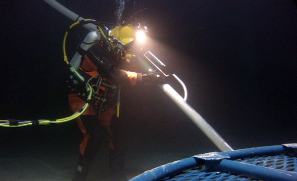 Commercial Diving Water Tank Inspection, Utah
